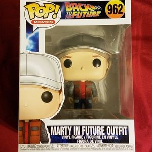 Back to the Future Funko - Marty in Future Outfit